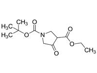 4-氧吡咯烷-1,3-二甲酸1-叔丁基3-乙酯,90%(HPLC)