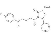 (S)-4-苯基-3-[5-(4-氟苯基)-5-氧代戊酰基]-2-恶唑烷酮,99%(HPLC)