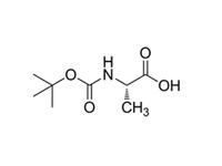 N-叔丁氧羰基-L-丙氨酸,97%(HPLC)