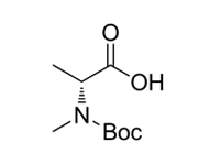 BOC-N-甲基-D-丙氨酸,98%(GC)