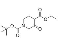 1-叔丁氧羰基-3-氧代哌啶-4-甲酸乙酯,90%(HPLC)