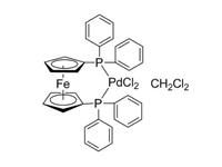 [1,1'-双(<em>二</em>苯基膦基)<em>二</em>茂铁]<em>二</em>氯化钯(II)<em>二</em><em>氯</em><em>甲烷</em>络合物,98%(HPLC)